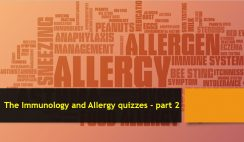 The Immunology and Allergy quizzes - part 2